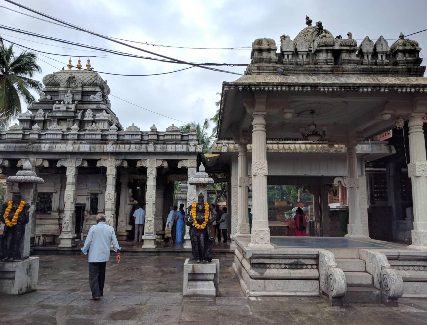 Ambalpadi Temple inside courtyard