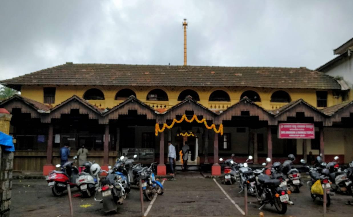 Ambalpadi Temple from outside
