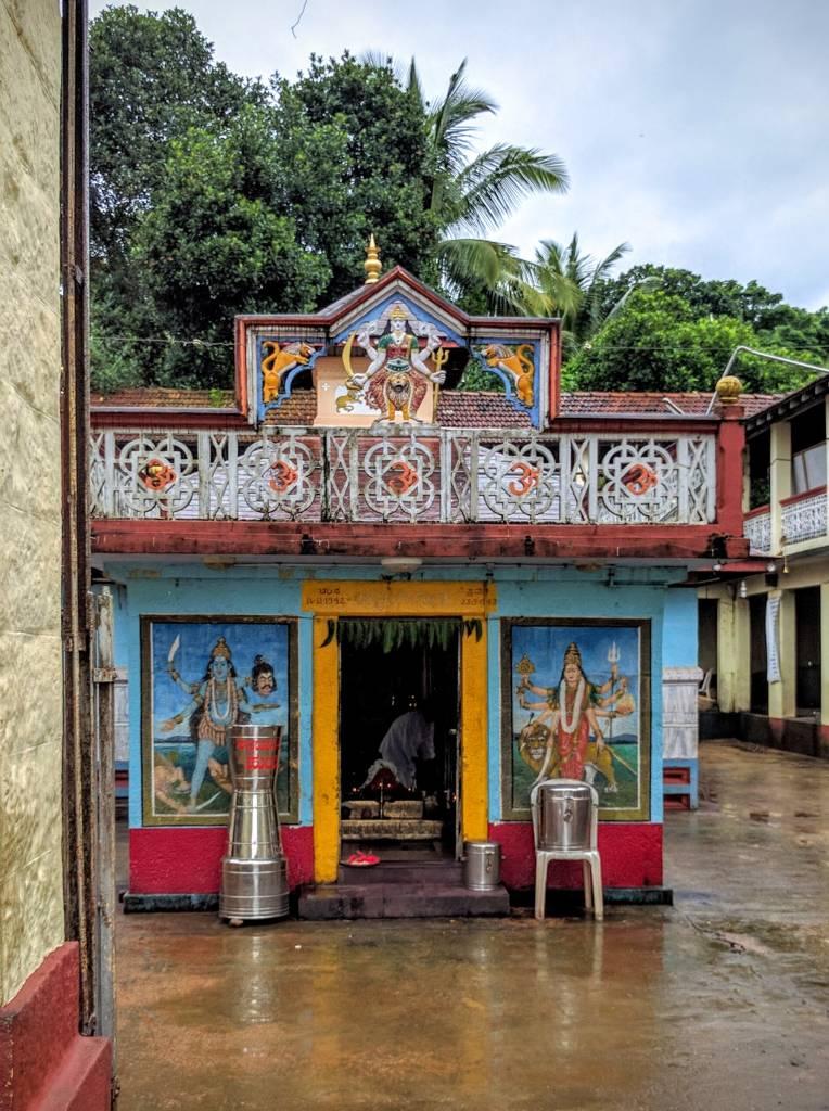 Hale Mariyamma Temple inside hallway